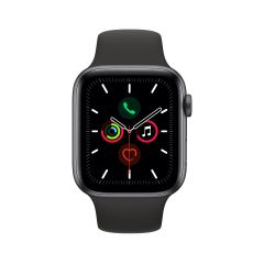 Apple Watch Series 5 - Space Grey Aluminium Case with Sport Band 44mm GPS + Cellular