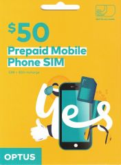 Optus $50 Voice Triple SIM Starter Kit