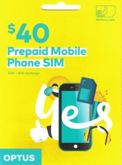 Optus $40 Voice Triple SIM Starter Kit